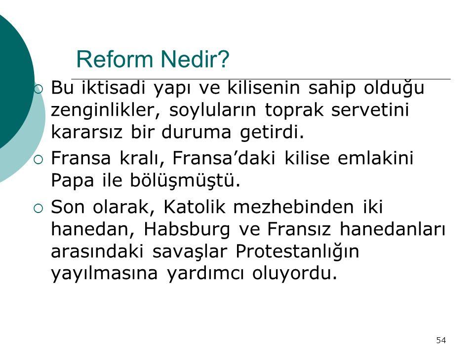 54 Reform Nedir.