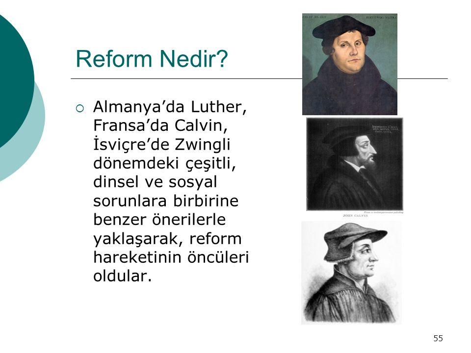 55 Reform Nedir.