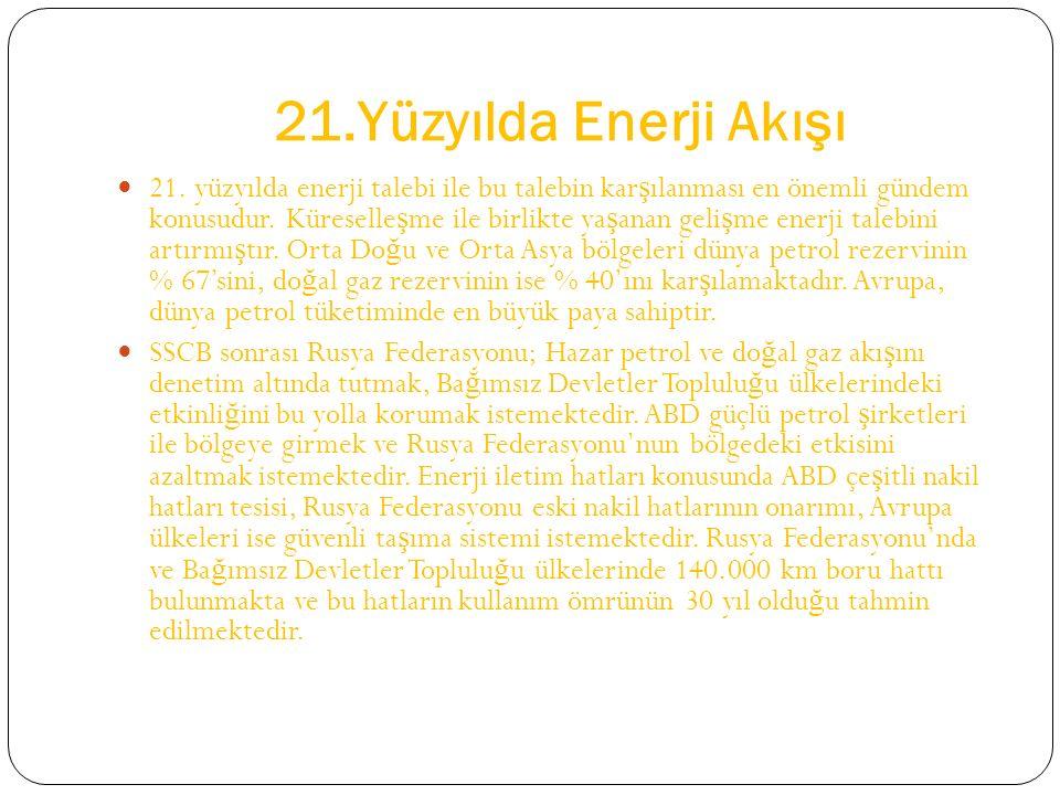 21.Yüzyılda Enerji Akışı 21.