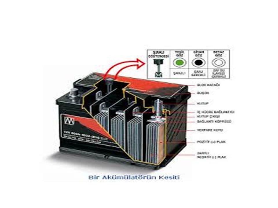 Şarj Sistemi Vantilatör kayışı; alternatörün çalışmasını sağlar.