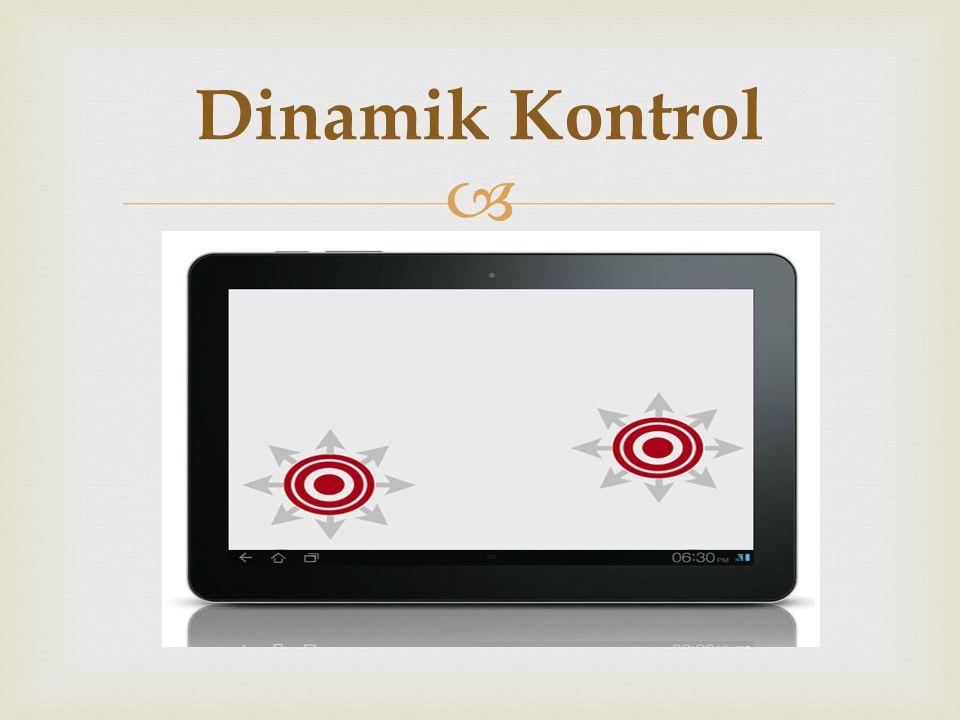   Bu tarz kontrol sistemi statik kontrol sisteminden türetilmiştir bu tarz kontrol çok haraketli olmayan oyunlar için kullanılmaktadır.