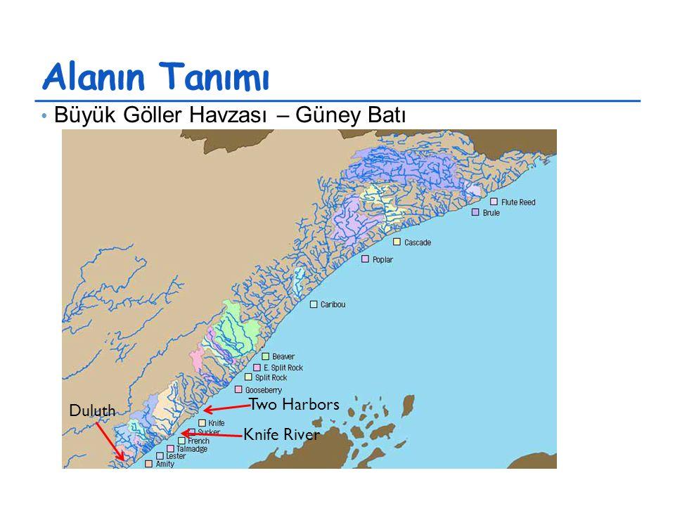 Alanın Tanımı Büyük Göller Havzası – Güney Batı Duluth Knife River Two Harbors