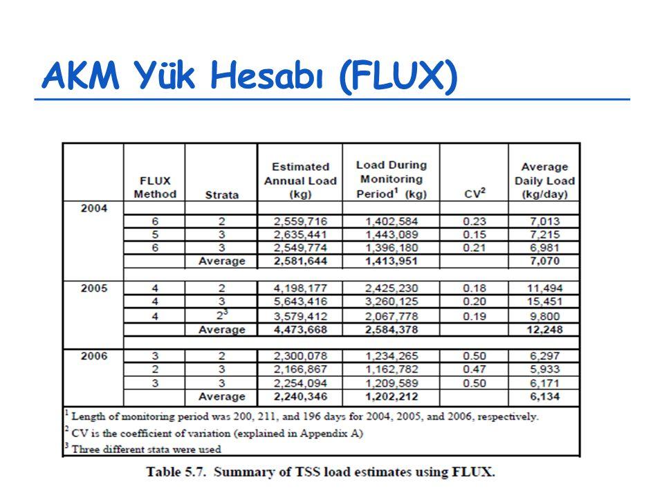 AKM Yük Hesabı (FLUX)