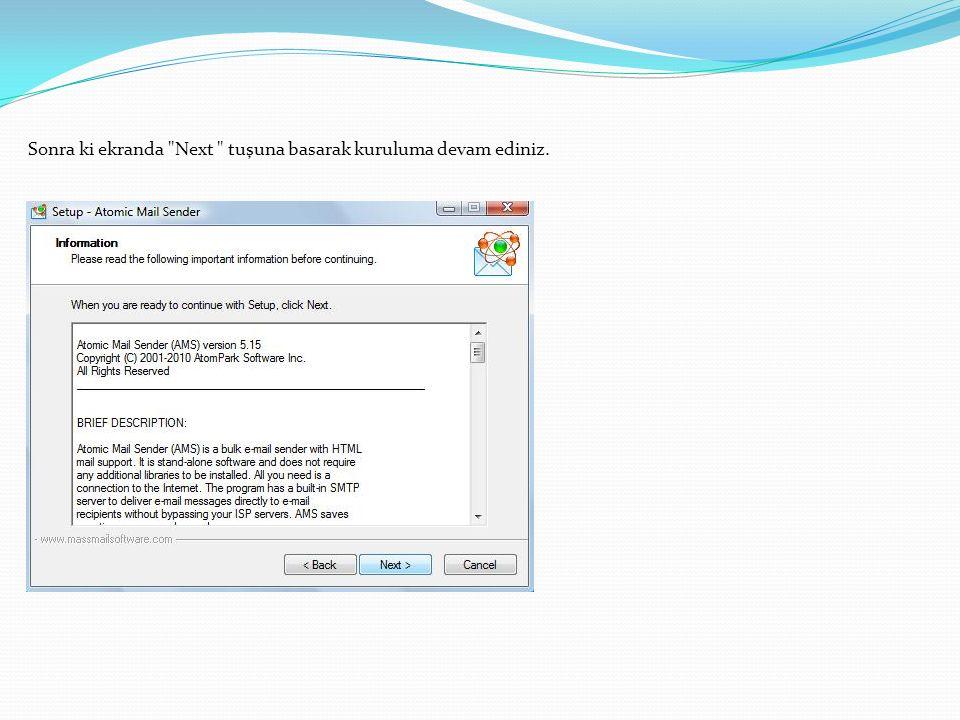 Settings >>Change Language>>Turkish seçeneğini işaretleyerek,programı Türkçe yapabilirsiniz.