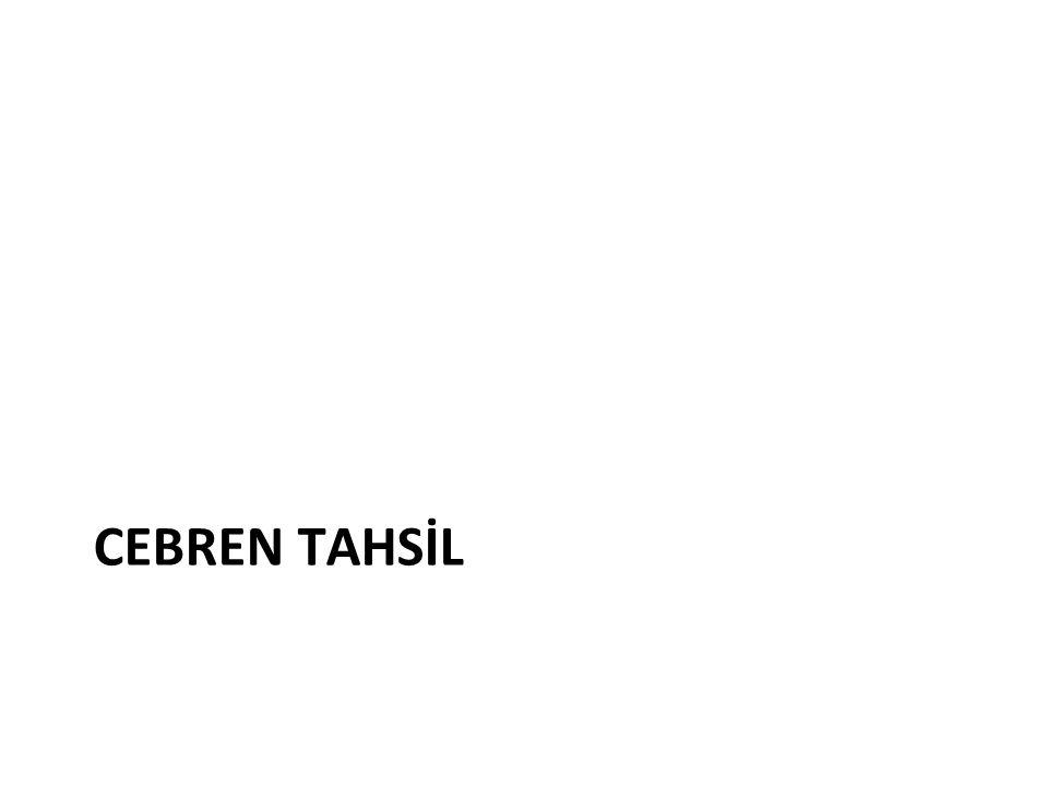 CEBREN TAHSİL