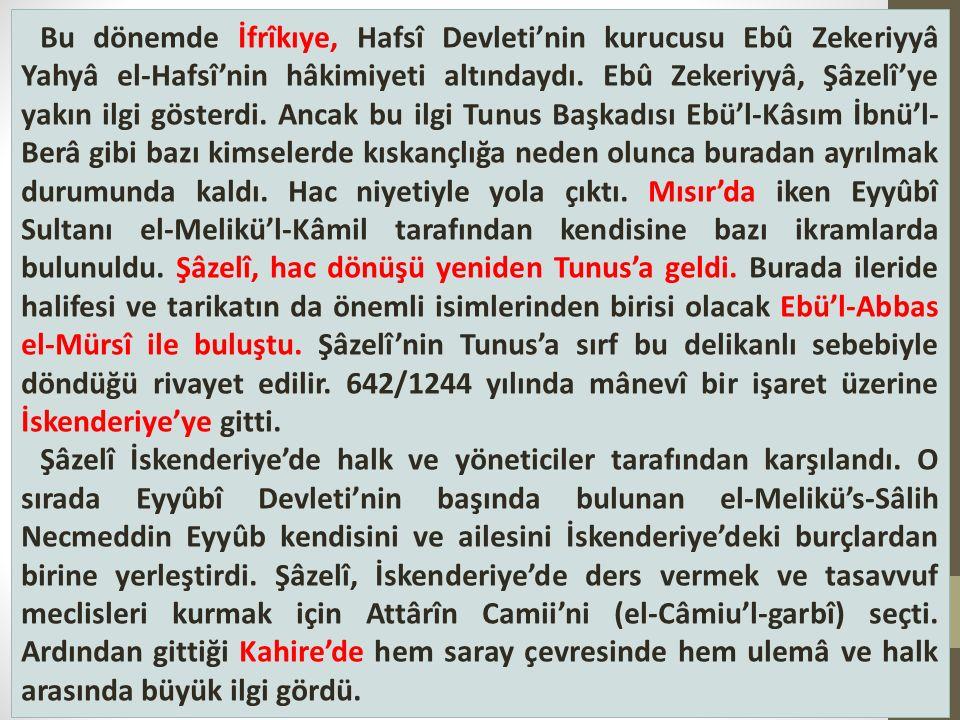Bu dönemde İfrîkıye, Hafsî Devleti'nin kurucusu Ebû Zekeriyyâ Yahyâ el-Hafsî'nin hâkimiyeti altındaydı.