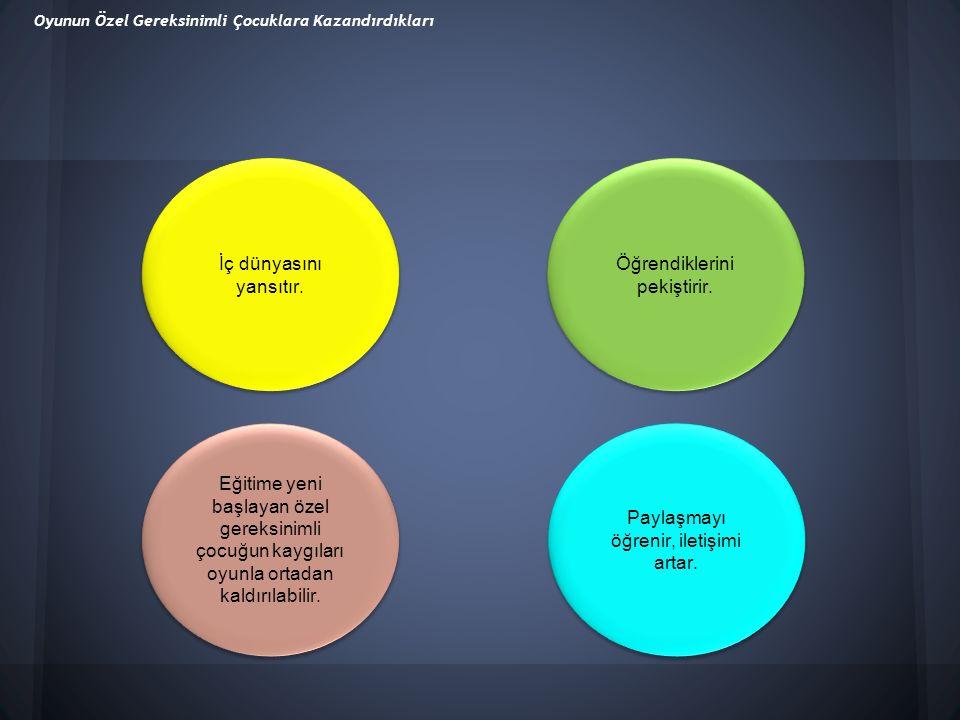 1.Zihin yetersizliğine sahip öğrencilerin davranışlarında gözlem yapılmalıdır.