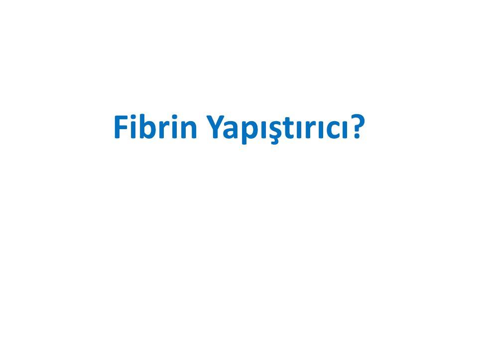 Fibrin Yapıştırıcı?