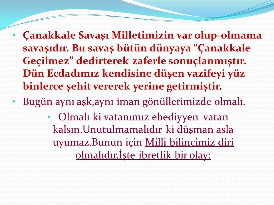 Ezine Geyikli bucağından Halil Helvacı anlatıyor: 1892 doğumluyum.