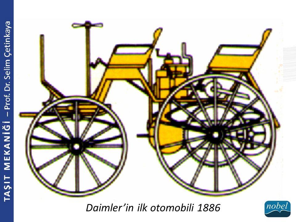 Daimler'in ilk otomobili 1886