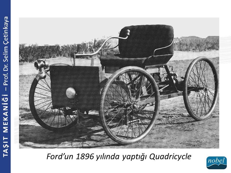 Ford'un 1896 yılında yaptığı Quadricycle