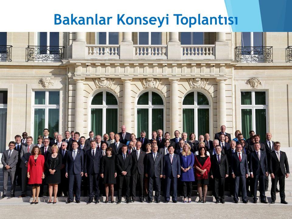 Bakanlar Konseyi Toplantısı 14Büyükelçi (E) Mithat Rende