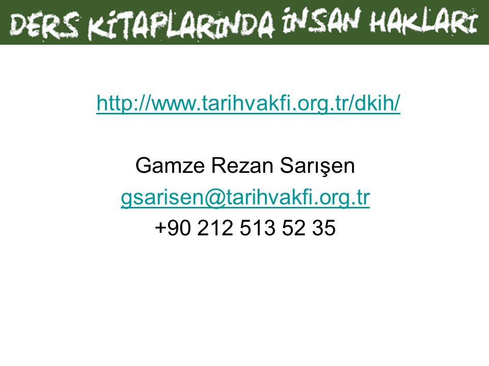 http://www.tarihvakfi.org.tr/dkih/ Gamze Rezan Sarışen gsarisen@tarihvakfi.org.tr +90 212 513 52 35