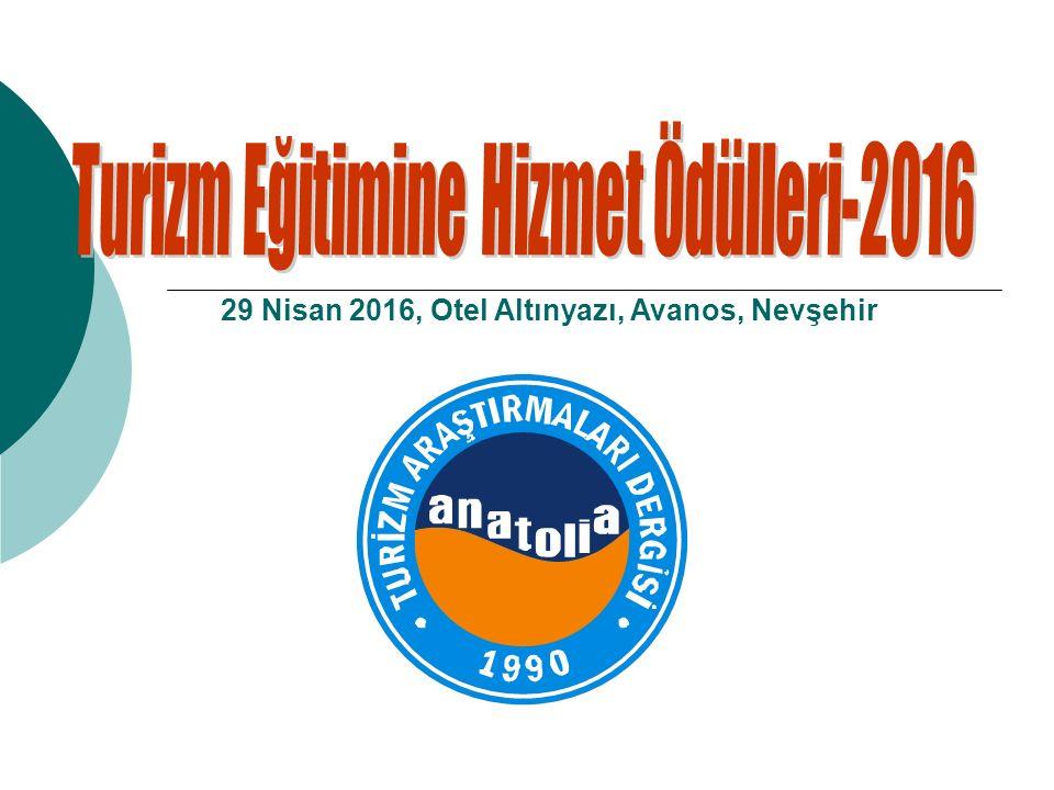 29 Nisan 2016, Otel Altınyazı, Avanos, Nevşehir