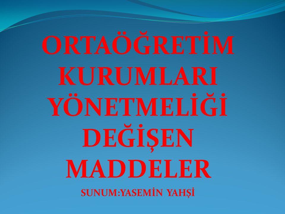 ÖĞRETMENLERİN MESLEKİ ÇALIŞMA USULÜ YENİDEN BELİRLENDİ 2.