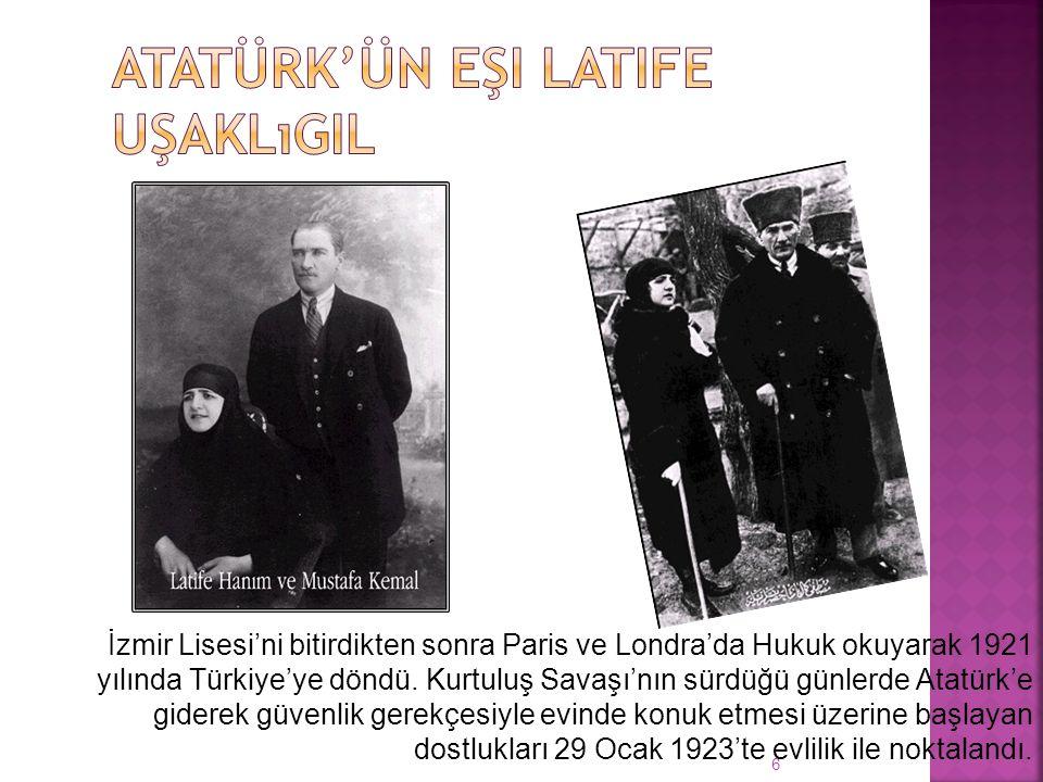 6 İzmir Lisesi'ni bitirdikten sonra Paris ve Londra'da Hukuk okuyarak 1921 yılında Türkiye'ye döndü.