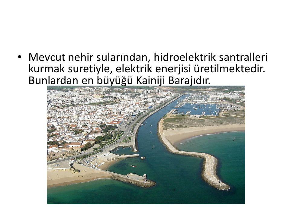 Mevcut nehir sularından, hidroelektrik santralleri kurmak suretiyle, elektrik enerjisi üretilmektedir. Bunlardan en büyüğü Kainiji Barajıdır.