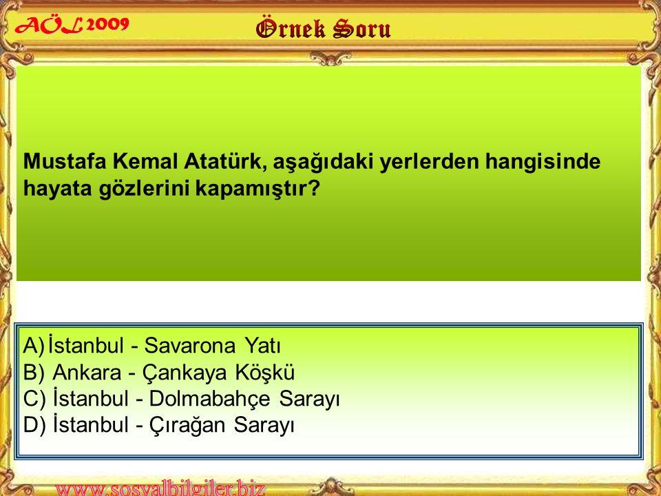 A) Celal Bayar B) Cevdet Sunay C) Cemal Gürsel D) İsmet İnönü Atatürk'ten sonra Türkiye Cumhuriyeti Cumhurbaşkanlığına, aşağıdakilerden hangisi seçilm
