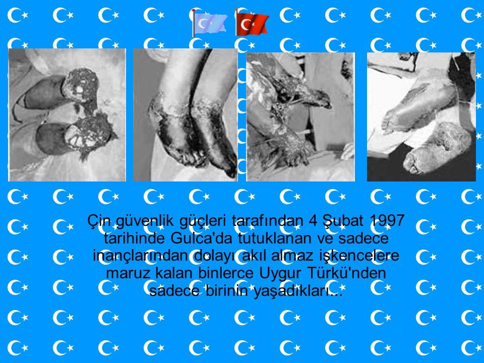 Çin güvenlik güçleri tarafından 4 Şubat 1997 tarihinde Gulca da tutuklanan ve sadece inançlarından dolayı akıl almaz işkencelere maruz kalan binlerce Uygur Türkü nden sadece birinin yaşadıkları...