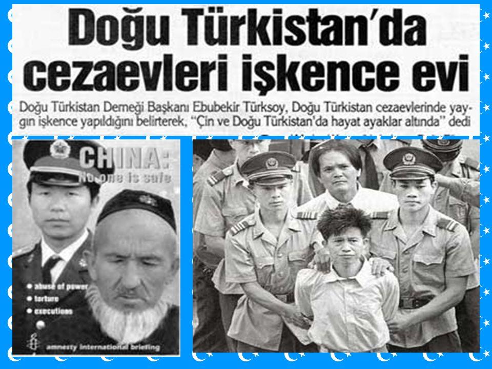 DOĞU TÜRKİSTANLIM Unuttum seni Türkistanlım, unuttum seni.