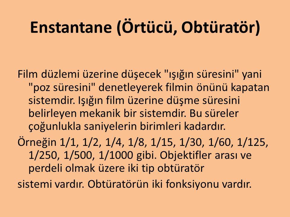 Geniş açılı objektif Görüş açısı normal objektiflerden daha geniş olan objektiflerdir.