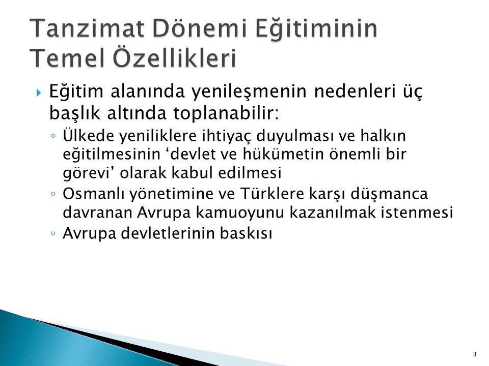  Türklerin giriştiği özel öğretim  Bu dönemde Türkler tarafından açılan herhangi bir özel okula ait kayıt bulunamamıştır.