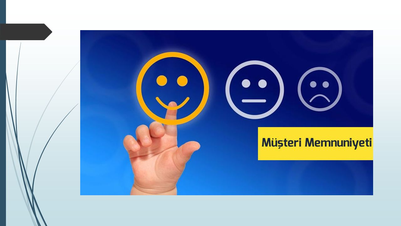 (1) İç Müşteri  İşletme içindeki tüm çalışanların amacı, nihai müşterilerin beklentilerini karşılayacak mal ya da hizmeti üretebilmektir.