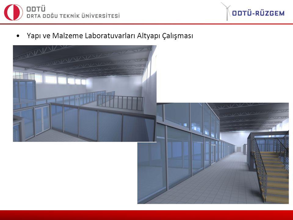 Yapı ve Malzeme Laboratuvarları Altyapı Çalışması