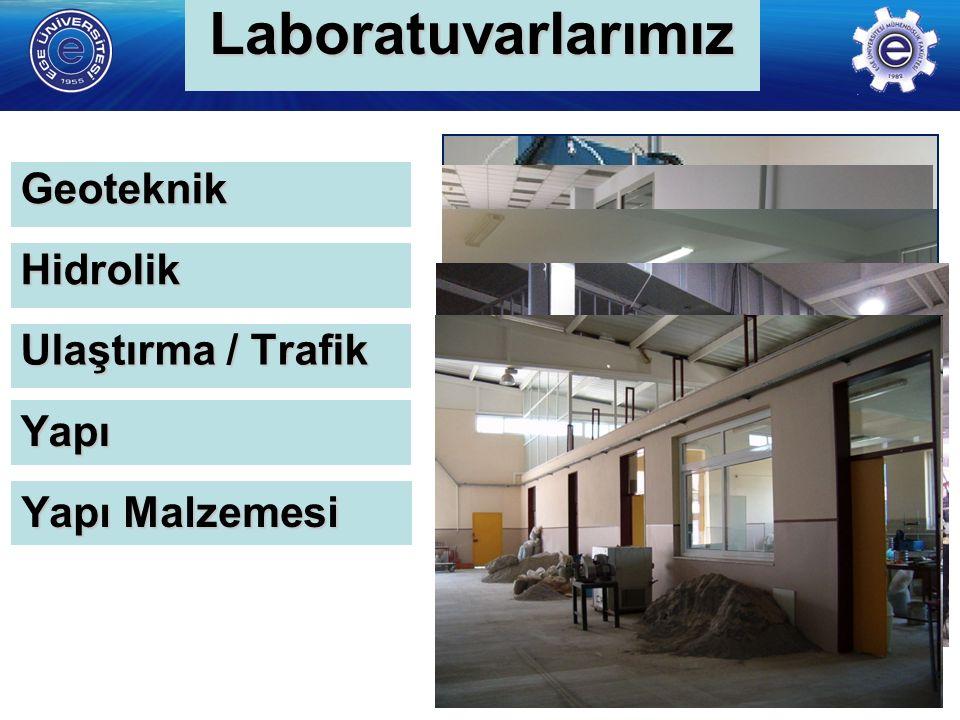 http://www. insaat. ege.edu.tr/ İnşaat Mühendisliği Bölümü Laboratuvar Altyapısı