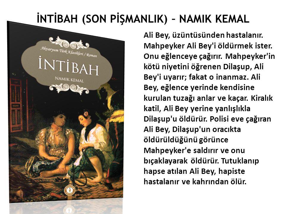 ALİ SUAVİ (1839 – 1878) Muhbir gazetesindeki yazılarında sade bir dil kullanarak Tanzimat dönemindeki dilde Türkçülük hareketine öncülük etmiştir.
