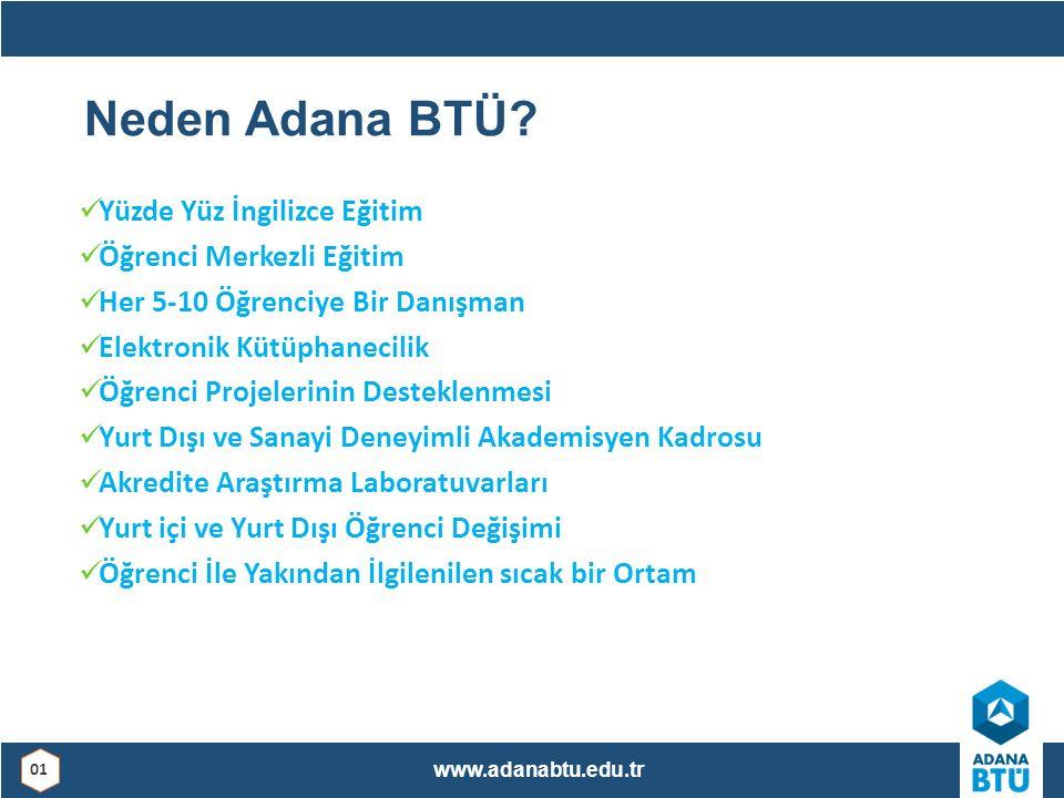 Neden Adana BTÜ.