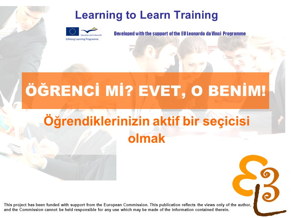 learning to learn network for low skilled senior learners ÖĞRENCİ Mİ.