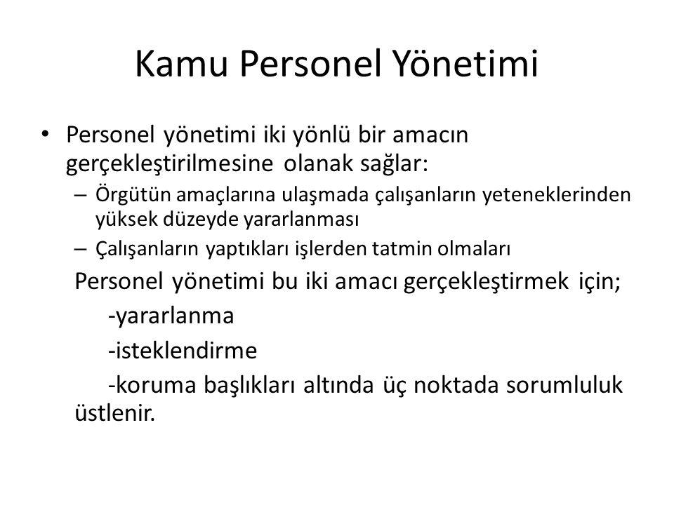Kamu Personel Yönetimi İkinci Dönem:Planlı Dönem Öncesi (1949-1959) – Thornburg Raporu-1949/1950 Türkiye Nasıl Yükselir.