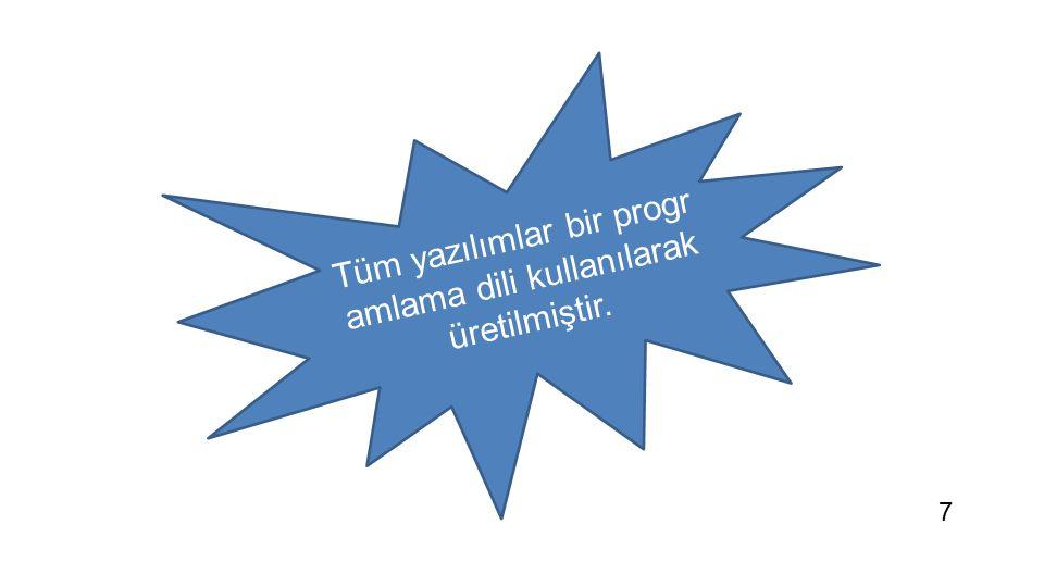 For i=1 to 5 Print merhaba Next 1111 0000 1010 0101 0000 1111 1011 1100 KOMUTLAR 8
