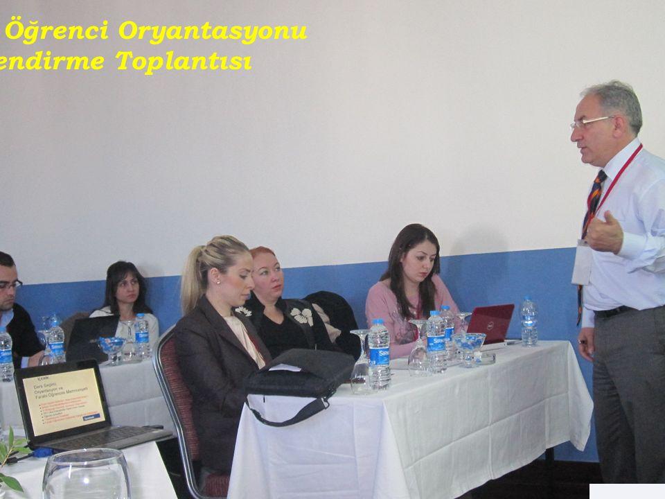 RENG İ N DUYGU İ PEK Ziya Hocamız Gelen Öğrenci Oryantasyonu Bilgilendirme Toplantısı