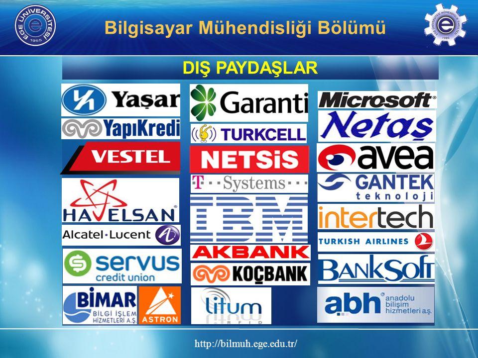 http://bilmuh.ege.edu.tr/ Bilgisayar Mühendisliği Bölümü DIŞ PAYDAŞLAR