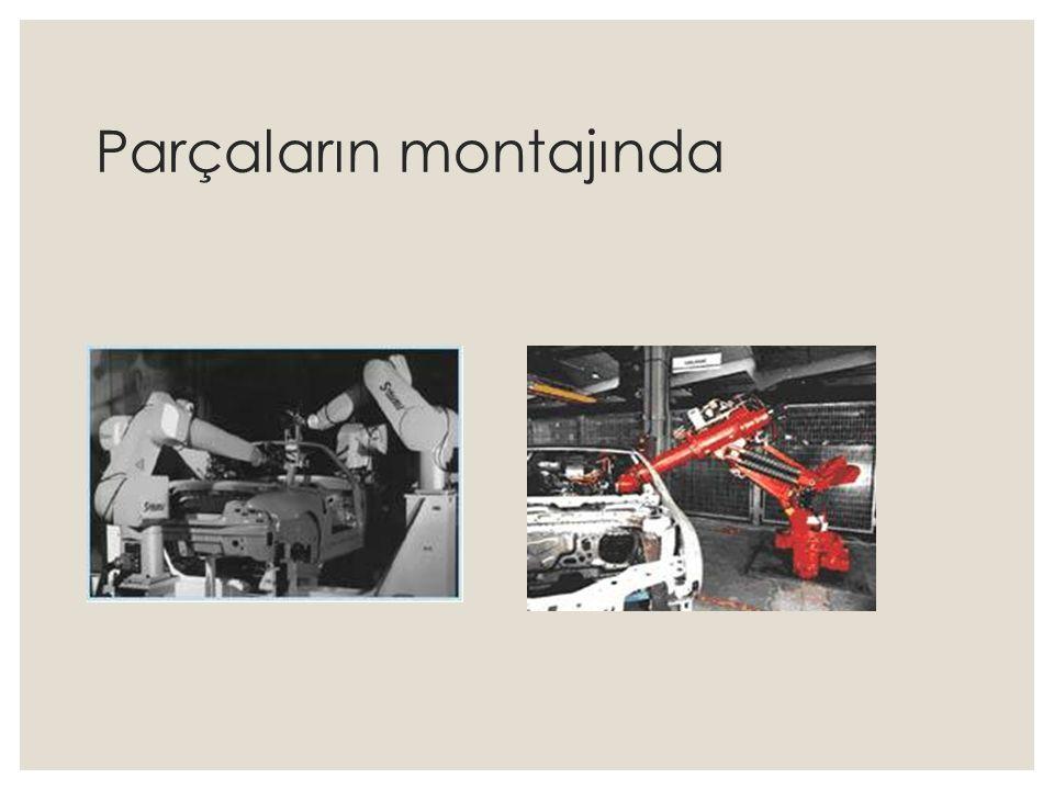 Mekanik Tutucular ◦ Parçaları mekanik tutucular arasında tutarlar ve parmaklar mekanik olarak hareket ederler