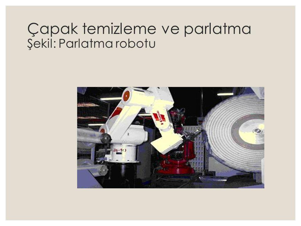 Çapak temizleme ve parlatma Şekil: Parlatma robotu