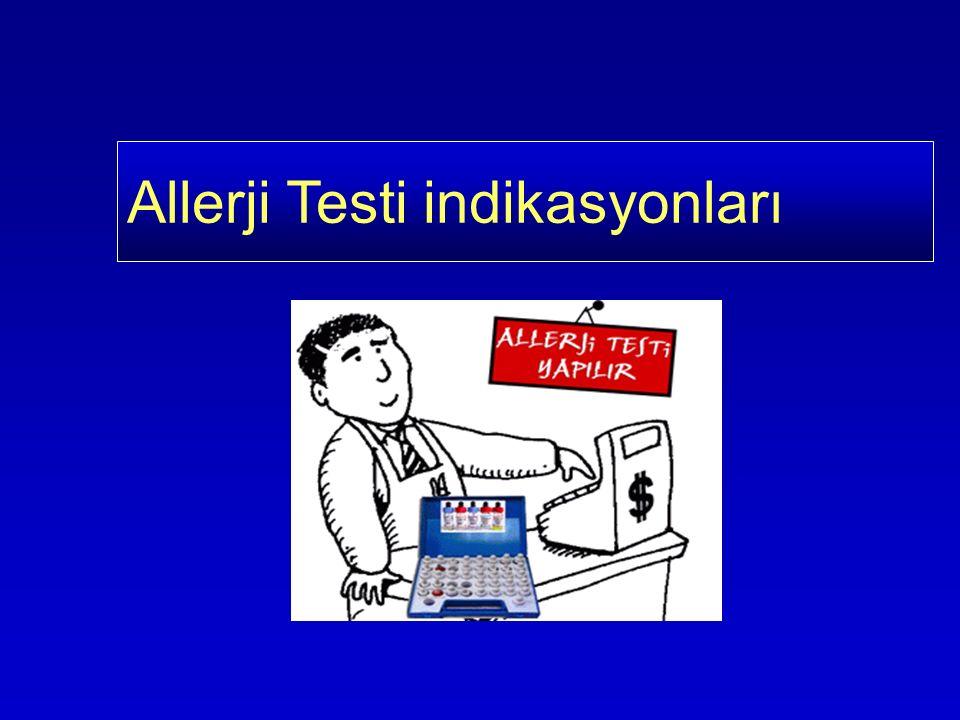 Allerji Testi indikasyonları