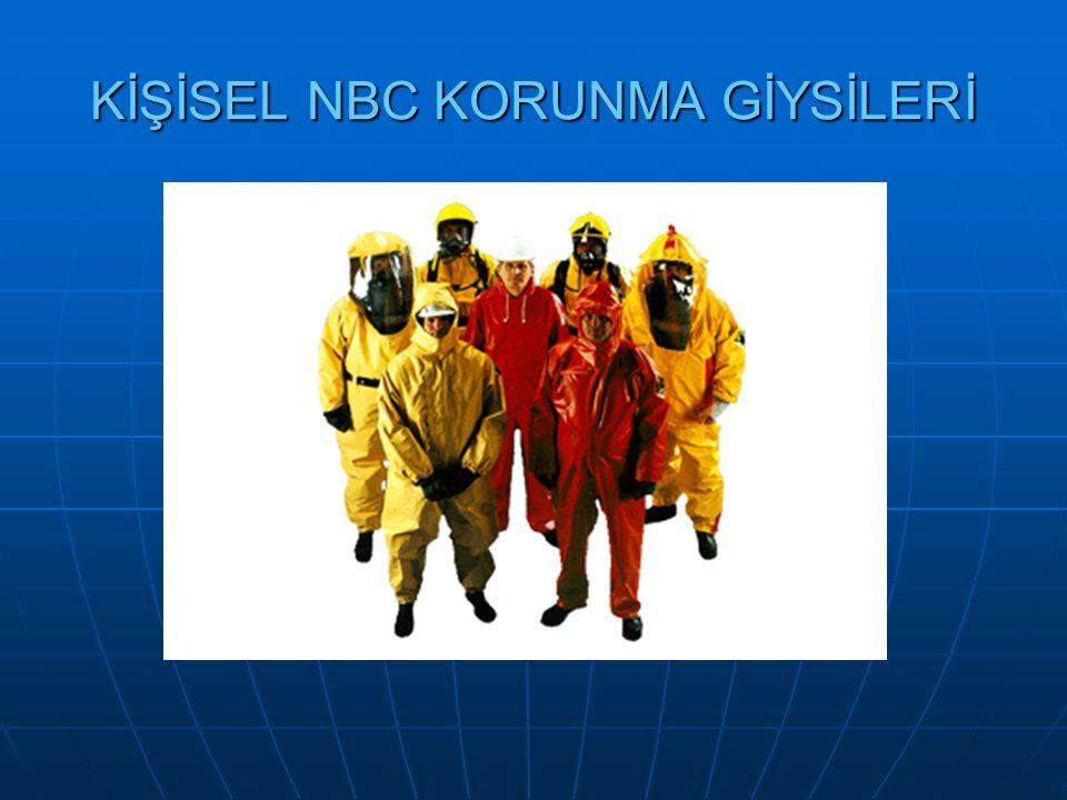 KİŞİSEL NBC KORUNMA GİYSİLERİ