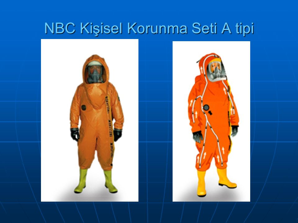 NBC Kişisel Korunma Seti A tipi