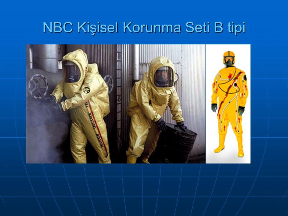 NBC Kişisel Korunma Seti B tipi