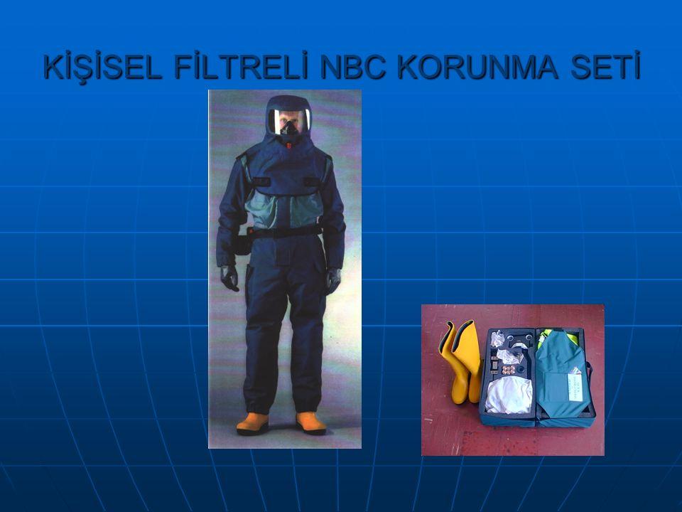 KİŞİSEL FİLTRELİ NBC KORUNMA SETİ