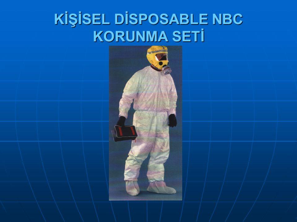 KİŞİSEL DİSPOSABLE NBC KORUNMA SETİ
