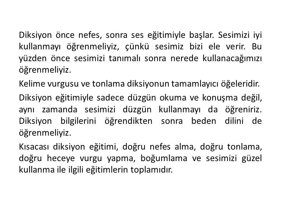 GÜZEL VE ETKİLİ KONUŞMANIN İLKELERİ 9.