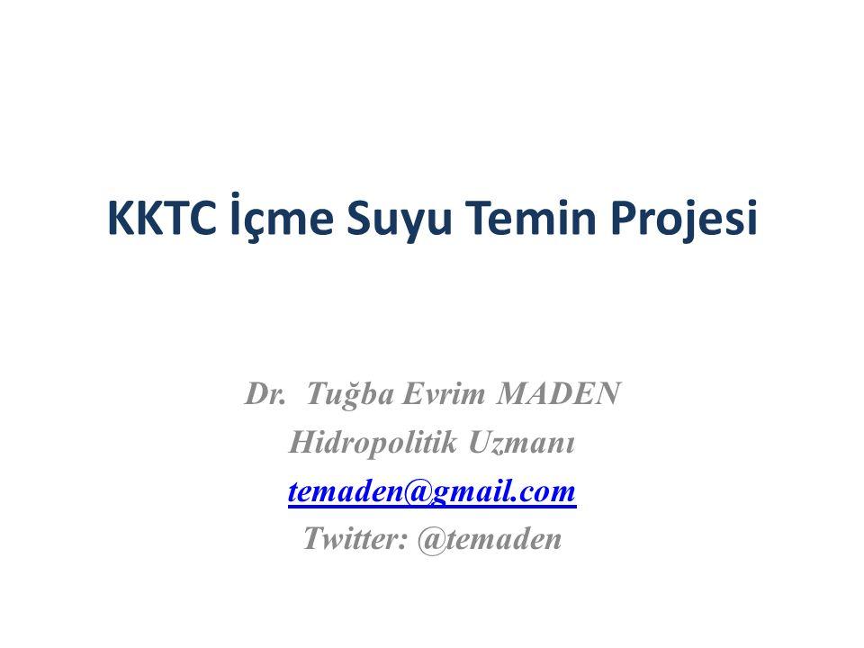 KKTC İçme Suyu Temin Projesi Dr.