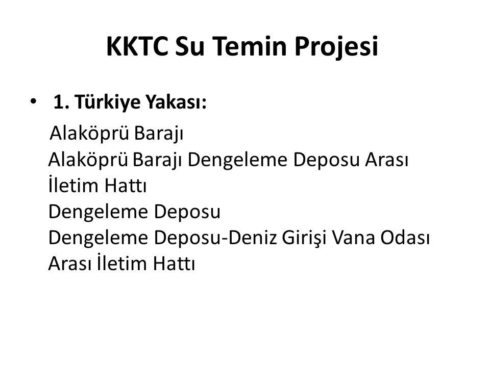KKTC Su Temin Projesi 1.