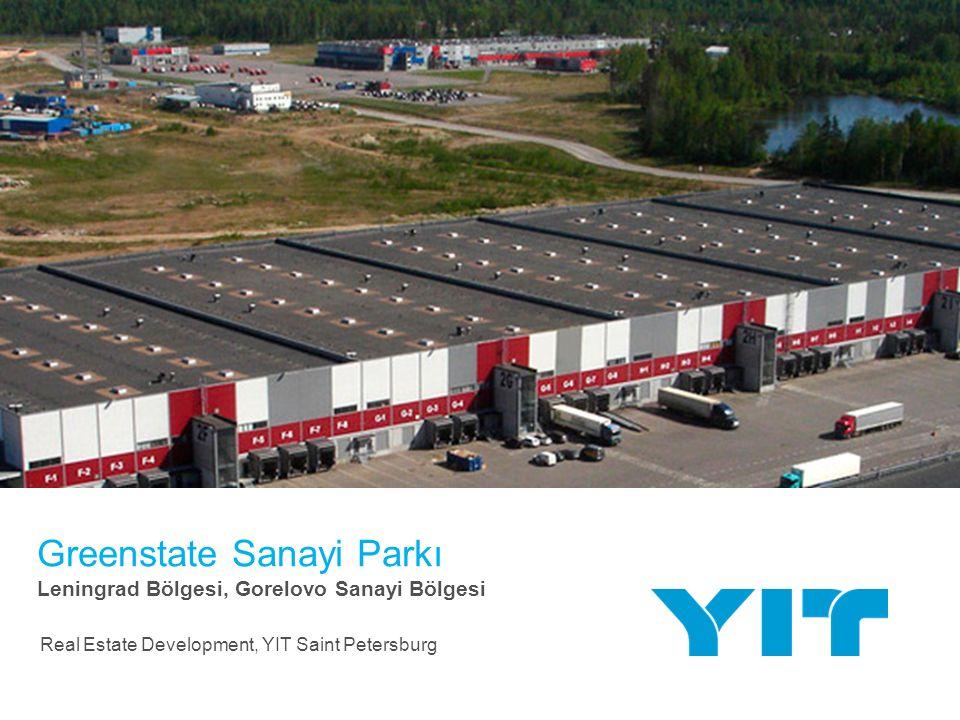 Greenstate içinde Gaz Türbin Tesisin inşaatı YIT | 12 | Toplam tesisler alanı 20,7 bin m 2 Üretim ünitesi13,7 bin m 2 Ofis binası 6,5 bin m 2 Diğer 0,5 bin m 2