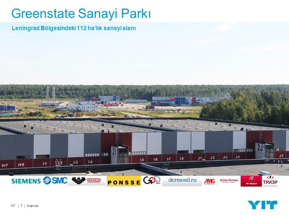 YIT | 7 | Internal Leningrad Bölgesindeki 112 ha'lık sanayi alanı Greenstate Sanayi Parkı