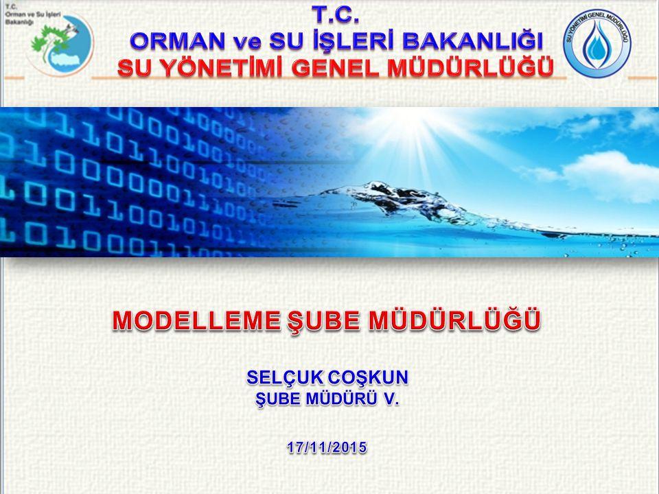 SYGM Tarafından Kullanılması Planlanan Modeller Hidrolik ve Hidrolojik Modeller HEC-RAS; 1 boyutlu hidrolik model SOBEK; 1 ve 2 boyutlu hidrolik model Wflow; Hidrolojik model Küresel ve Bölgesel İklim Modelleri İklim Modelleri Havza ölçeğinde sıcaklık, yağış, buharlaşma ve akış projeksiyonları Yer Altı Suyu Modelleri Kalite Modelleri Akım ve Kirletici Taşınım Modelleri 12/37